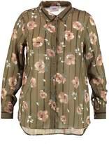 Zizzi MARILYN Shirt khaki