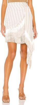 L'Academie The Saba Mini Skirt