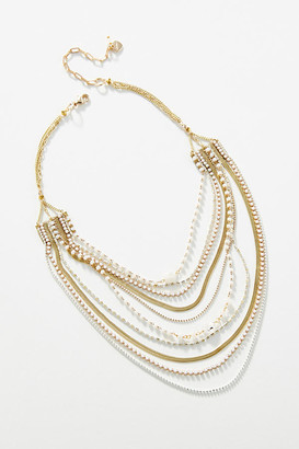 Anthropologie Jaya Layered Necklace By in Assorted Size ALL