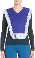 Altuzarra Colorblock Long Sleeve Sweater