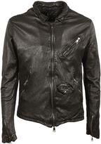 Giorgio Brato Black Zipped Jacket