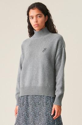 Ganni Cashmere Mix Pullover