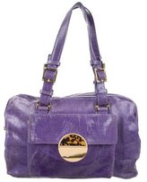 Tory Burch Distressed Leather Tote