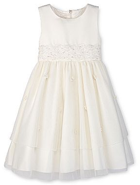 JCPenney Princess Faith Embellished Tiered Dress - Girls 2t-4t