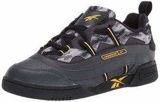 Reebok unisex-adult Workout Plus Recrafted Sneaker Collegiate Navy/Primal Red/White 13 medium US