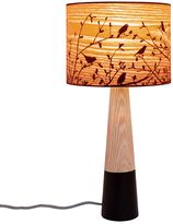 Micky & Stevie Timber Sparrows Table Lamp, Short