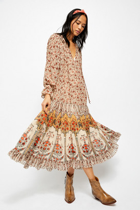 Free People Feeling Groovy Border Maxi Dress