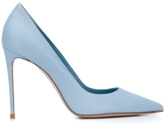 Le Silla Eva 110mm calf leather pumps
