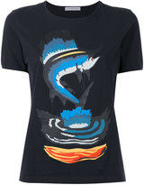 J.W.Anderson Marlin print T-shirt - women - Cotton - S