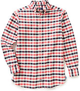 Daniel Cremieux Big & Tall Long-Sleeve Exploded Check Oxford Woven Shirt