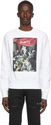 Off-White White Caravaggio Painting Sweatshirt