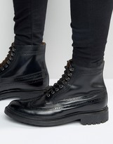 Grenson Sebastian Leather Laceup Boots