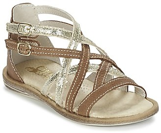 Citrouille et Compagnie GAFOTA girls's Sandals in Brown