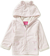 Joules Baby Girls Newborn-18 Months Baby Cuddle Striped Hooded Jacket