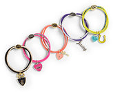 Juicy Couture Girl's Five-Piece Elastic Charm Hairbows