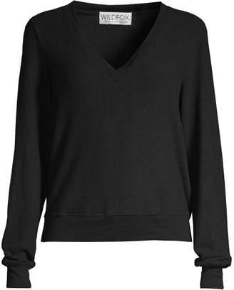 Wildfox Couture V-Neck Sweatshirt