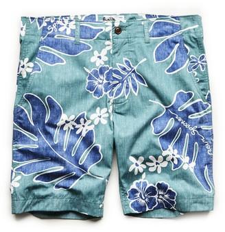 Todd Snyder Exclusive Reyn Spooner Surplus Shorts in Green Palm