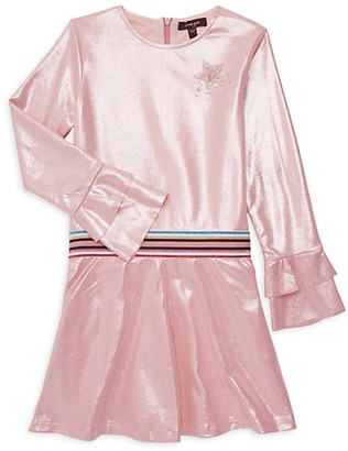 Imoga Little Girl's Girl's Roundneck Dress
