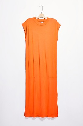 Fp Beach All Day Long Midi T-Shirt Dress