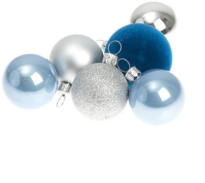 Gift Company Shanghai Bauble Blue Set of 21
