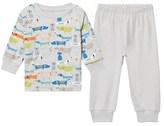 Kissy Kissy Grey Puppy Print Pyjamas