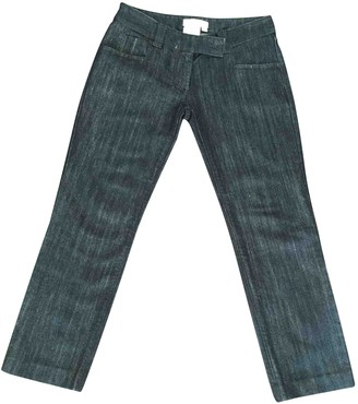 Christian Dior Blue Denim - Jeans Trousers