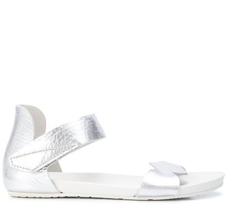 Pedro Garcia metallic open-toe sandals