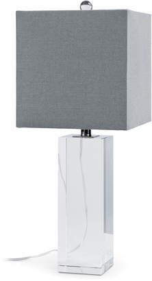 REGINA ANDREW Crystal Block Table Lamp