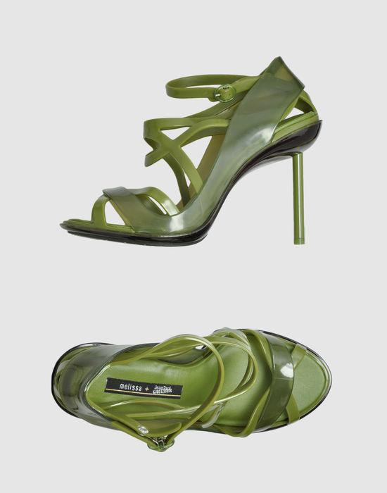 Jean Paul Gaultier MELISSA + High-heeled sandals