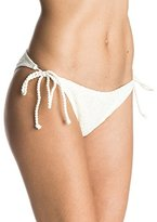 Roxy Women's Hazy Daisy Tie Side Surfer Bikini Bottom