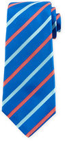 Kiton Wide-Stripe Silk Tie