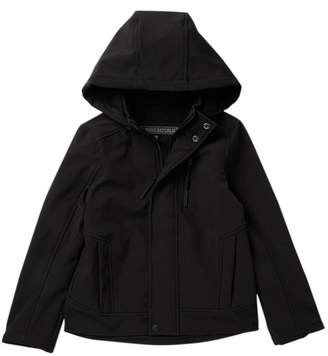 Urban Republic Soft Shell Jacket with Zip Off Hoodie (Big Boys)