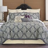 JCPenney Cindy Crawford Style® Striae Damask Comforter Set & Accessories