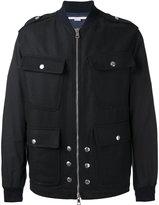 Stella McCartney pocket front bomber jacket - men - Cotton/Polyamide/Viscose/Wool - 46