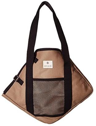 Snow Peak PC Canvas Carry Case S (Tan) Bags