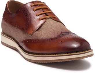 English Laundry Crewe Wingtip Medallion Derby
