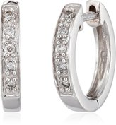"KC Designs Charmed Life"" Diamond 14k Gold Mini Hoop Earrings"