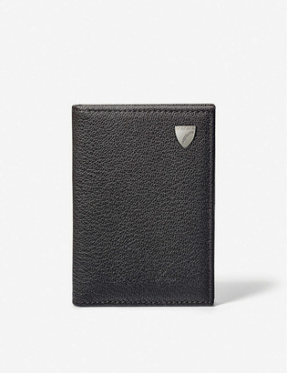 Aspinal of London Billfold six-card leather wallet