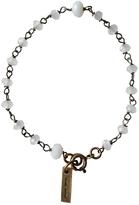Isabel Marant White Metal Bracelet