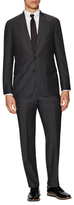 Kenneth Cole New York Checkered Wool Notch Lapel Suit