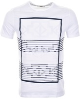Antony Morato Aztec Print T Shirt White