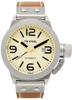 TW Steel Men's Canteen Leather Automatic Watch - CS15