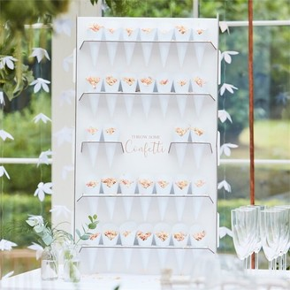 Ginger Ray Botanic Wedding Confetti Stand W Cones