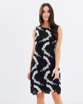 Wallis E Mono Crochet Lace Dress