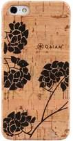 Gaiam iPhone 5 / 5S Hydrangea Cork Hard Shell Cell Phone Case