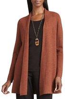 Long Wool Cardigan, Plus Size