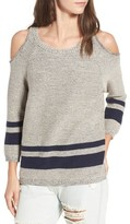 RVCA Women's Marked Cold Shoulder Sweater