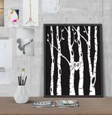 I Love Design Personalised Illustrated Tree Love Wedding Print