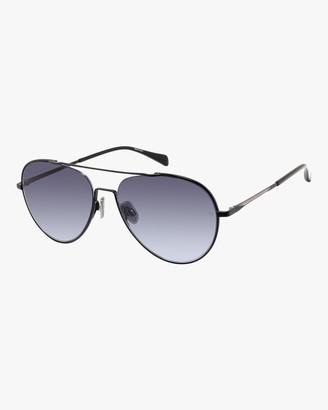 Rag & Bone Double-Bridge Aviator Sunglasses