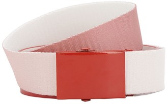 Gr Uniforma X Diesel Red Tag Logo Gradient Cotton Belt